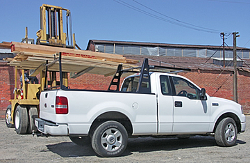 Atlas pickup truck rack
